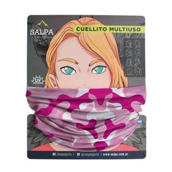 Cuello Camuflado Rosa